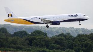 A Monarch plane.