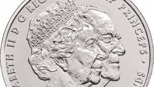 New platinum coins created to mark Queen and Prince Philip's 70th wedding anniversary