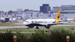 All Monarch flights from Birmingham Airport cancelled
