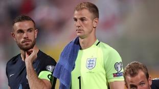 Goalkeeper Joe Hart keen to enjoy England success during international career
