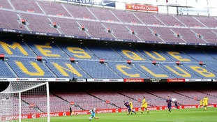 Barcelona's game against Las Palmas should have been called off says former boss Pep Guardiola