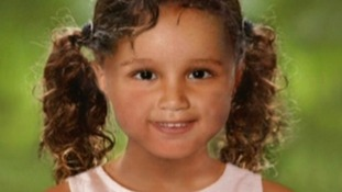 Police released this computer-generated picture of how Atiya may look three years after being kidnapped