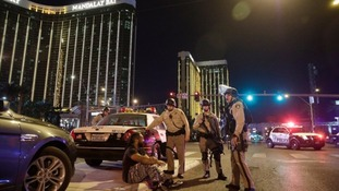 The Las Vegas attack took place outside the Mandalay Bay hotel.