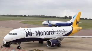 Monarch plane