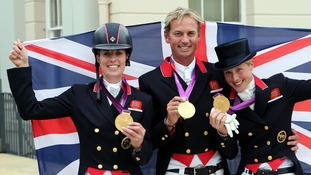 Charlotte Dujardin, Carl Hester and Laura Bechtolsheimer rewrote Games history.