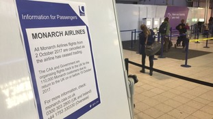 Notice to customers about cancelled flights