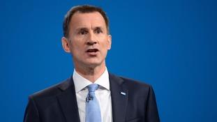 Jeremy Hunt has pledged an additional 5,000 nurse training places.