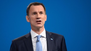 Health Secretary Jeremy Hunt announces 5,000 extra nurse training places in bid to increase home-grown NHS staff