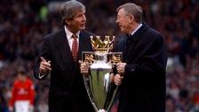 Martin Edwards and Sir Alex Ferguson.