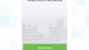 A trial giving people the option to pay for parking via a smartphone app is being adopted at Patriotic Street and Les Jardins car parks