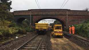 New track being installed on Norwich to London line to make services more reliable