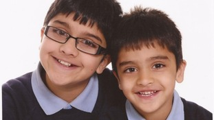 Adnan Habib, 10, and Arsalaan, four, were killed in a car crash on Christmas Day