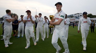 Porter helped Essex lift the County Championship trophy.