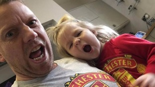 Footy-mad three-year-old girl lists all Manchester United players and sings Zlatan Ibrahimovic song