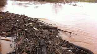 Flood alerts remain in place on the River Teme