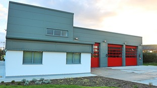 IoM's first combined fire and ambulance station opens