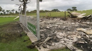 Cricket club in Bideford burnt down for second time