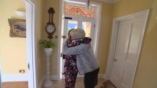 Joan Lawrence met Becky's mother in Swindon