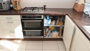 Emile Cilliers' kitchen.