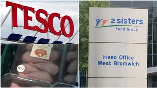 Tesco boss 'deeply concerned' by ITV News/Guardian chicken supplier investigation
