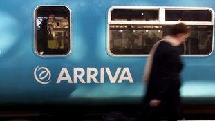 An Arriva train.