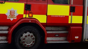 Essex firefighter 'wraps two children in cling film'