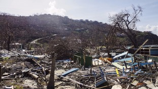 Hurricane Irma devastated the British Virgin Islands last month.