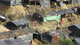 Shelterbox providing aid to Rohingya refugees in Bangladesh