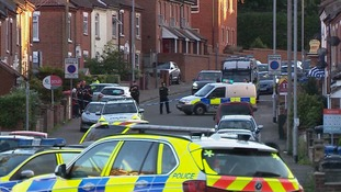 An incident in Norwich involving armed police is now over
