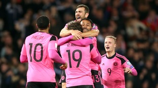 Chris Martin is the hero for Scotland as they beat Slovakia at Hampden Park
