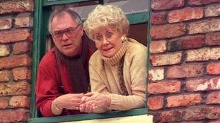 Liz played Vera Duckworth for 34 years.