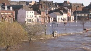 Whitesands floods in 2009