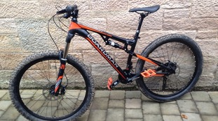 One of several mountain bikes stolen (see end of article)