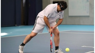 National Visually Impaired Tennis Championships take place in Loughborough for first time