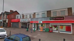 The Spar shop on Caerleon Road in Newport