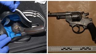 A St Ettiene revolver was found in Greatbatch's car when police arrested him.