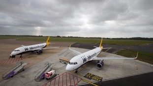 Monarch flights have been grounded.