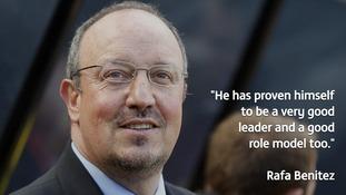 NUFC manager Rafa Benitez