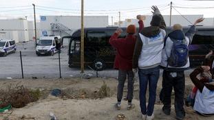 Majority of Calais migrants seek refuge in the UK