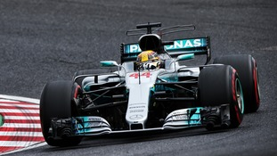 Japanese GP: Lewis Hamilton smashes lap record as he takes pole position at Suzuka