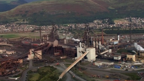 Tata Steel at Port Talbot