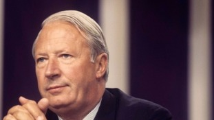PA image Sir Edward Heath
