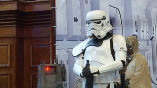 No sci-fi convention would be complete without an appearance of a Stormtrooper.