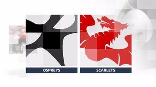 Gareth Davies stars as Scarlets beat Ospreys in derby