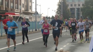 Thousands turn out for Plymouth 10K