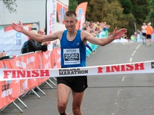 Russell Maddams took first place in the race