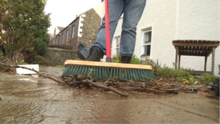 Flood-hit properties in Peebles given extra protection