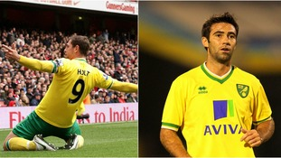 Grant Holt (left) and Simon Lappin (right) are both still fondly remembered at Norwich City.