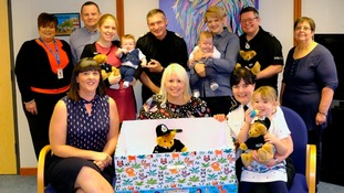 Police force introduces baby boxes for all new parents