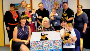 Lincolnshire Police introduce baby boxes for all new parents